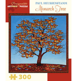 Paul Heussenstamm Monarch Tree 300-Piece Jigsaw Puzzle