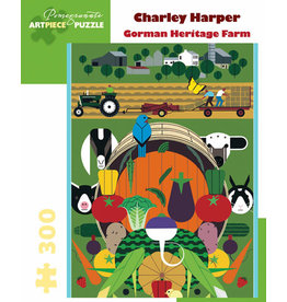 Charley Harper Gorman Heritage Farm 300-Piece Jigsaw Puzzle