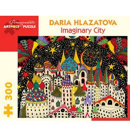 Daria Hlazatova Imaginary City 300-Piece Jigsaw Puzzle