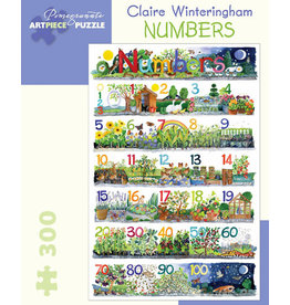 Claire Winteringham Numbers 300-piece Jigsaw Puzzle