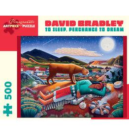 Bradley Sleep Perchance to Dream 500-Piece Jigsaw Puzzle