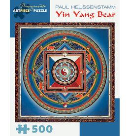 Paul Heussenstamm Yin Yang Bear 500-piece Jigsaw Puzzle