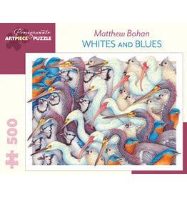 Matthew Bohan Whites and Blues 500-Piece Jigsaw Puzzle