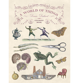A World of Things Denis Diderot Coloring Book
