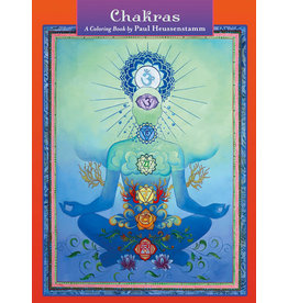 Chakras A Coloring Book by Paul Heussenstamm