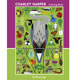 Charley Harper 50 Drawings Coloring Book