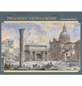Piranesi's Views of Rome Coloring Book