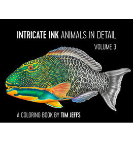 Tim Jeffs Intricate Ink Volume 3 Coloring Book