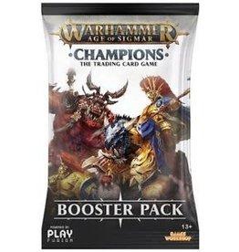 Warhammer TCG Warhammer Age Of Sigmar TCG Champions Booster