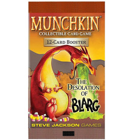Munchkin CCG Munchkin CCG Desolation of Blarg Booster