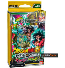 Dragon Ball TCG Dragon Ball Super Set 4 Colossal Warfare Starter Deck 5