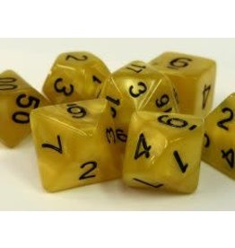 Yellow Pearl Dice (7 Poly) (Boxed)