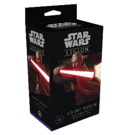 Star Wars Legion Star Wars Legion Count Dooku