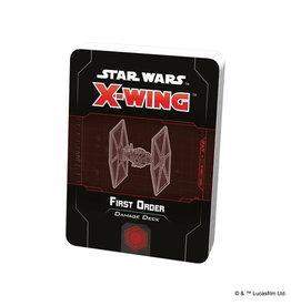 X-Wing Star Wars X-Wing 2nd Ed Damage Decks First Order