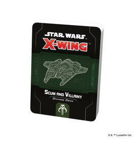 X-Wing Star Wars X-Wing 2nd Ed Damage Decks Scum and Villainy