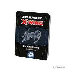 X-Wing Star Wars X-Wing 2nd Ed Damage Decks Galactic Empire