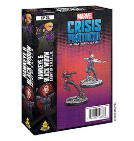 Marvel Crisis Protocol Marvel Crisis Protocol Hawkeye and Black Widow