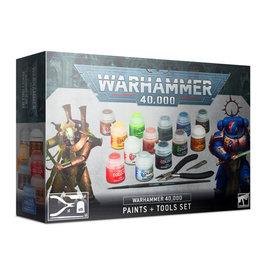 Citadel Warhmmer 40K Paints + Tools