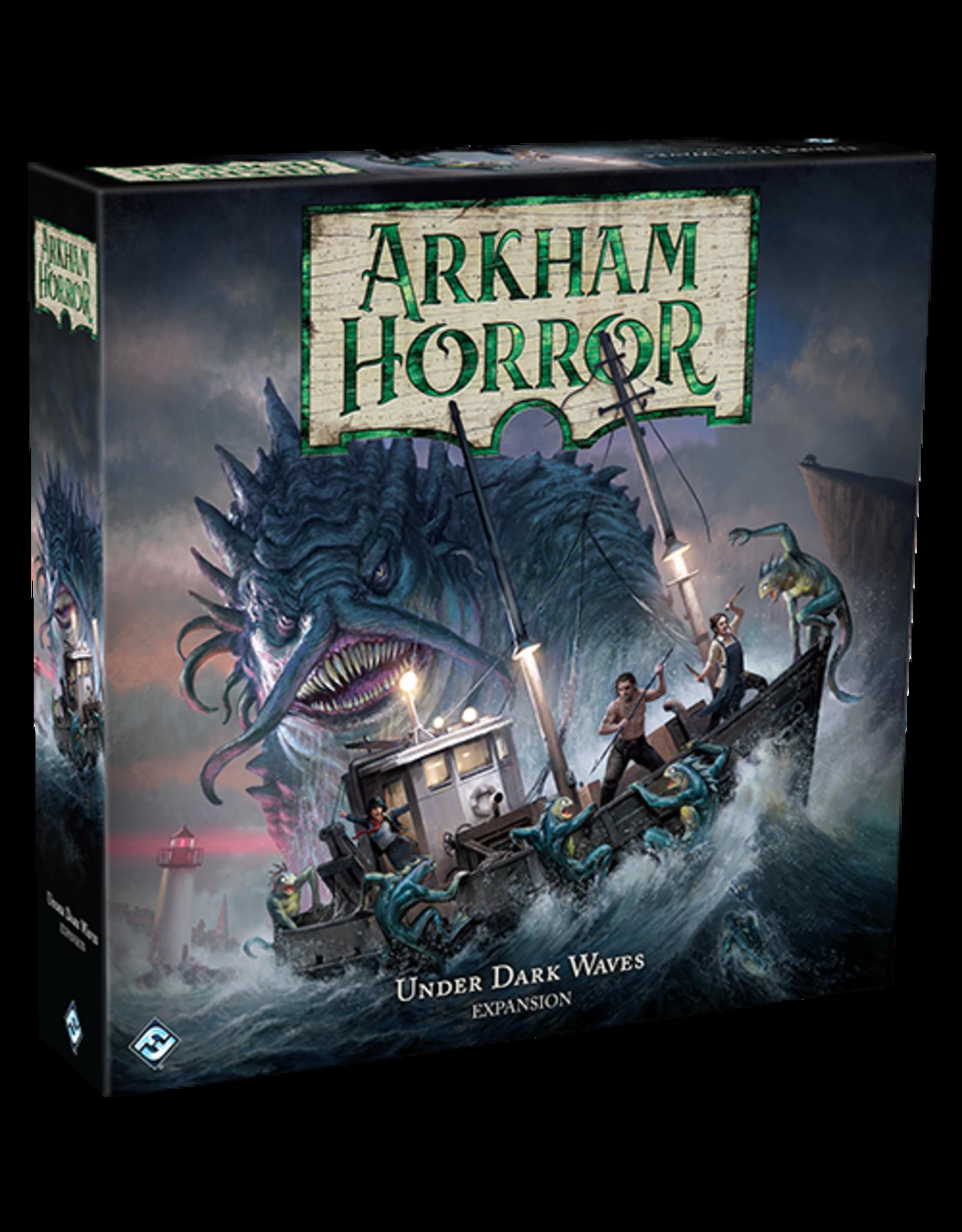 Arkham Horror Arkham Horror 3rd Under Dark Waves