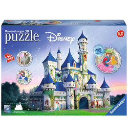 Disney Princess Castle (216 pc 3D Puzzle)