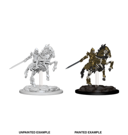 Pathfinder Unpainted W5 Skeleton Knight on Horse