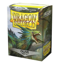 Dragon Shields Dragon Shield Matte 100 Olive