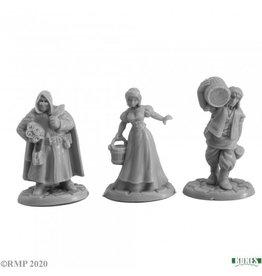 Reaper Mini Townsfolk III (3)