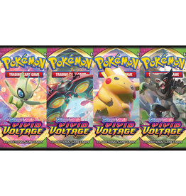 Pokemon Pokemon SS4 Vivid Voltage Booster Pack