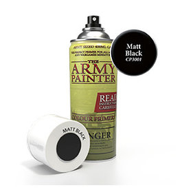 Army Painter Colour Primer Matte Black Undercoat