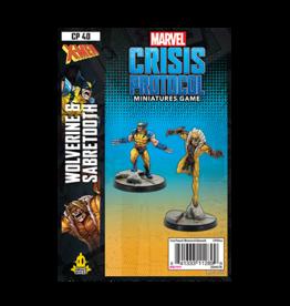 Marvel Crisis Protocol Marvel Crisis Protocol Wolverine & Sabertooth