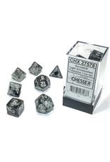Chessex Borealis Polyhedral Light Smoke/silver Luminary 7-Die