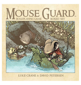 PREORDER Mouse Guard RPG Box Set (2nd ed)