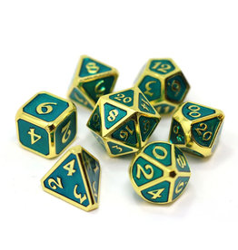 Die Hard Dice Mythica Gold Aquamarine