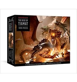 Puzzle D&D Rise of Tiamat Dragon 1000 piece