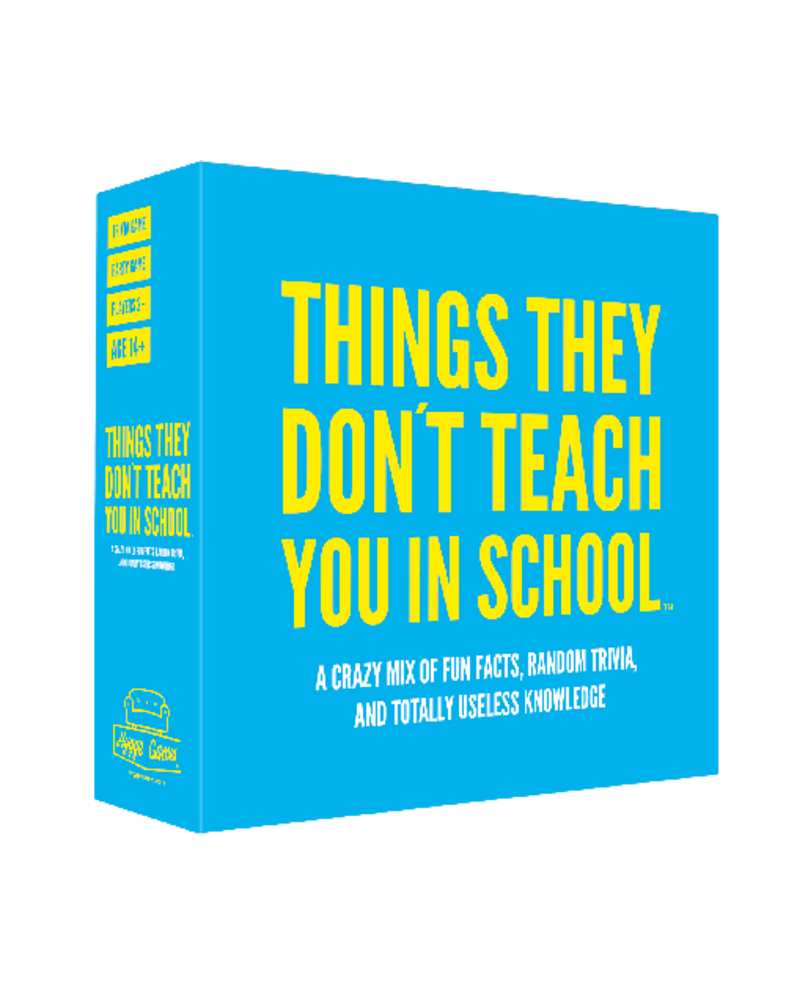 Things They Don't Teach You In School