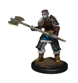 WizKids DnD Unpainted W13 Orc Barbarian Female