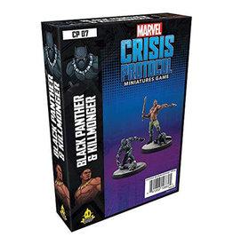 Marvel Crisis Protocol Marvel Crisis Protocol Black Panther and Kilmonger
