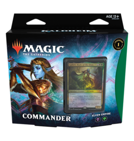 Magic Kaldheim Commander Deck Elven Empire
