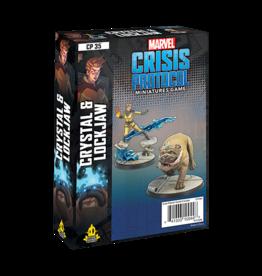 Marvel Crisis Protocol Marvel Crisis Protocol Crystal and Lockjaw