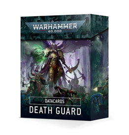 Warhammer 40k Datacards Death Guard (2021)
