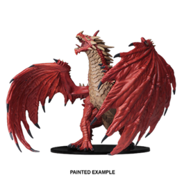 WizKids Pathfinder Unpainted Gargantuan Red Dragon