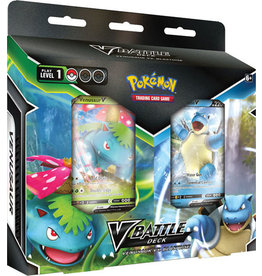 Pokemon Pokemon V Battle Deck Venusaur VS Blastoise