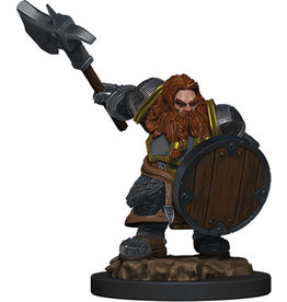 D&D Icons of the Realms Premium Fig W5 Dwarf Fighter Male