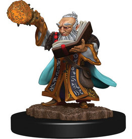 D&D Icons of the Realms Premium Fig W5 Gnome Wizard Male