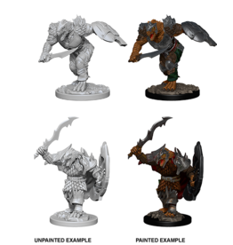 DnD Unpainted W4 Dragonborn Male Fighter