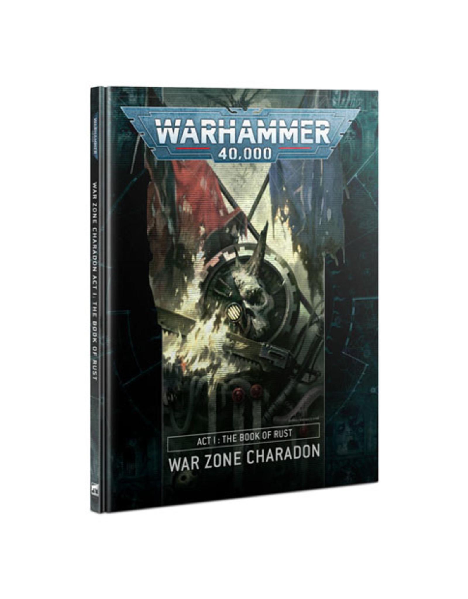 Warhammer 40k Charadon Act 1 Book Of Rust (HB)