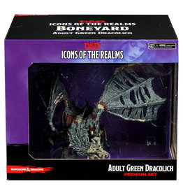 Icons of the Realms D&D Icons 18 Boneyard Premium Green Dracolich