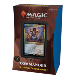 Magic Strixhaven Commander Deck Prismari Performance