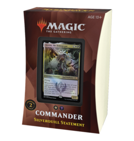 Magic Strixhaven Commander Deck Silverquill Statement