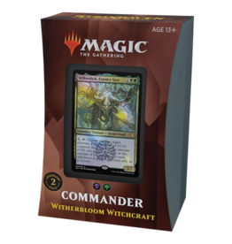 Magic Strixhaven Commander Deck Witherbloom Witchcraft